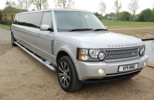 range rover limo leicester
